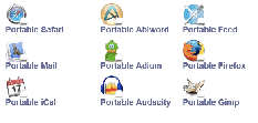 OS X Portable Applications